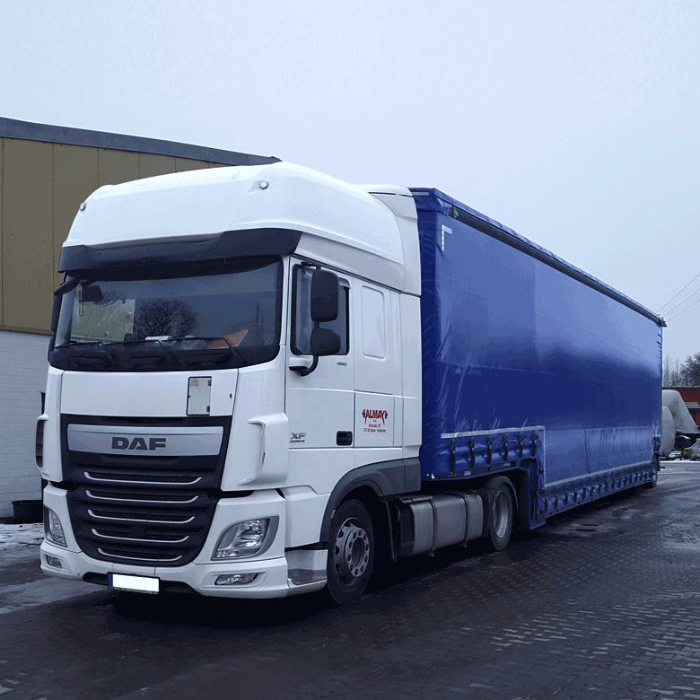 Schwertransporte und Sondertransporte bei Alwin Mayr Spedition in Dillingen